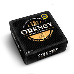 Orkney Coloured Mature Cheddar