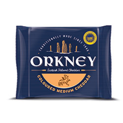 Orkney Coloured Medium Cheddar