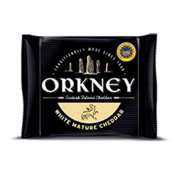 Orkney White Mature Cheddar