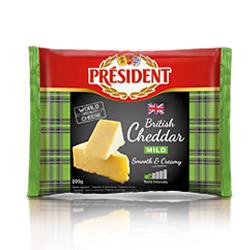 President British Cheddar Mild