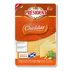 President Sliced Cheddar