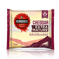 Seriously Cheddar Extra Mature Rich
