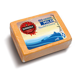 Seriously Red Cheddar Mild
