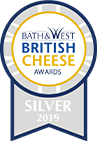 British Cheese Award Silver 2019