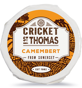 Cricket St Thomas Camembert Cheese