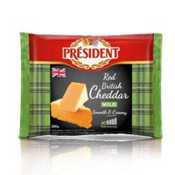 President British Cheddar Mild 1